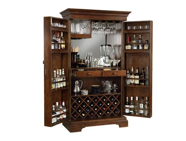 Blaise - Fantastic for entertaining and refined when closed.  Workmanship and detail has to be seen.   Open bar, serving area, storage for glasses an...