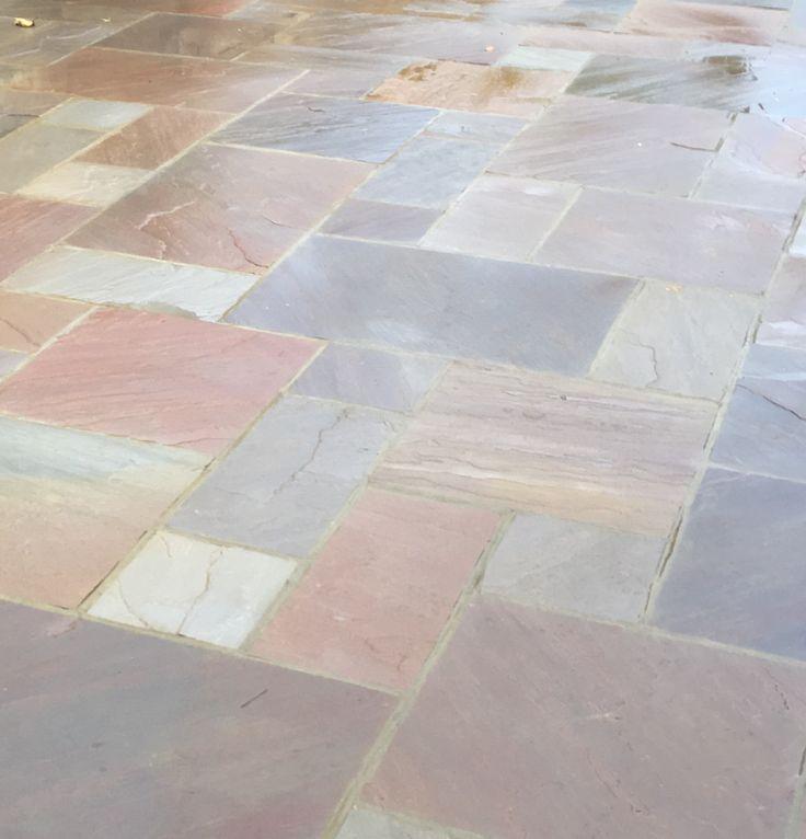 Raj Blend Paving #paving #patio #flagstones