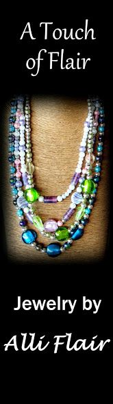 Jewelry by Alli Flair - Handmade jewelry on Etsy includes free shipping worldwide and a tracking number.
