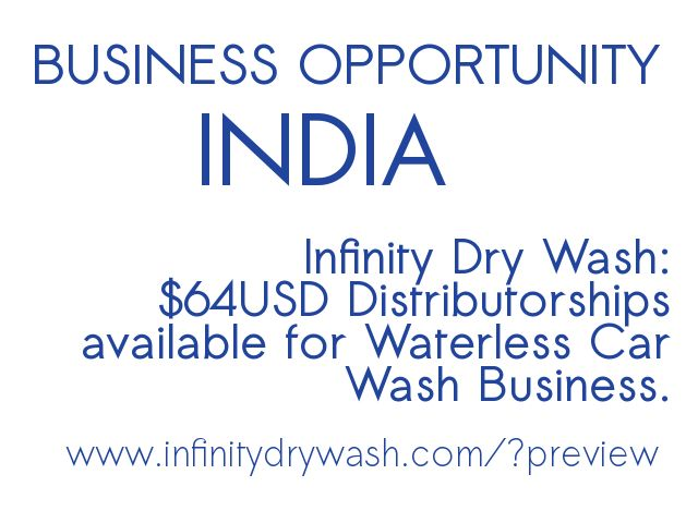 Visit www.InfinityDryWash.com/?preview for further information.