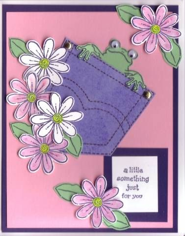 Pocket Fun Card by ducki - Cards and Paper Crafts at Splitcoaststampers