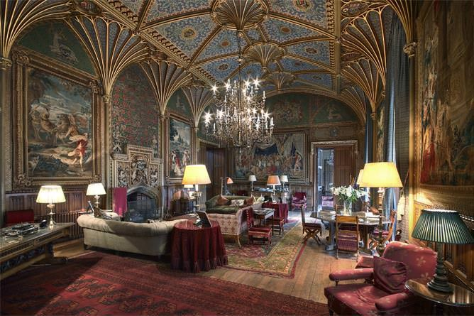 Eastnor Castle - Stunning Herefordshire luxury Castle for rent. Enjoy a true fairytale wedding at this lavish castle - yours exclusively for your special day. http://www.elysian-estates.co.uk/eastnor-castle/