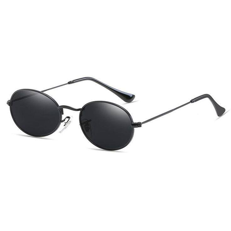 HOKU New ceartive sports HD women sunglasses Fashion decorative ladies glasses oval high quality glasses 6 color sun W109