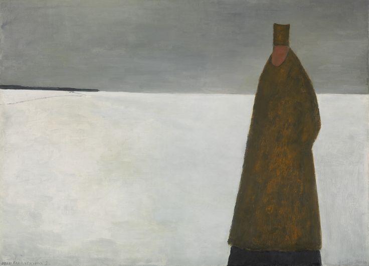 Le visiteur du soirJean Paul Lemieux, Le visiteur du soir, 1956 Huile sur toile, 80,4 x 110 cm  Musée des beaux-arts du Canada