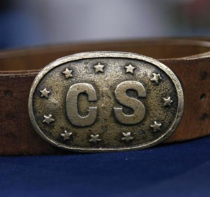 Extremely Rare Civil War Confederate Belt Buckle - Antiques Roadshow