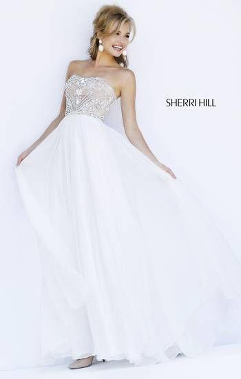 Elegant and beautiful, this Sherri Hill prom dress is a keeper!