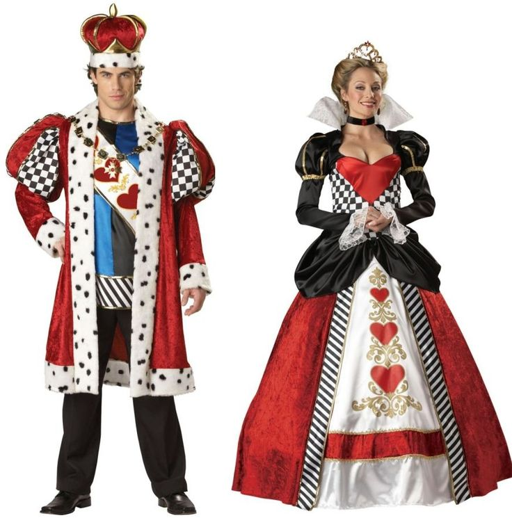fantastic king and queen outfit