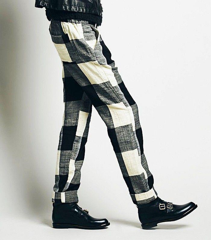 Domino Fall Trouser via @WhoWhatWear