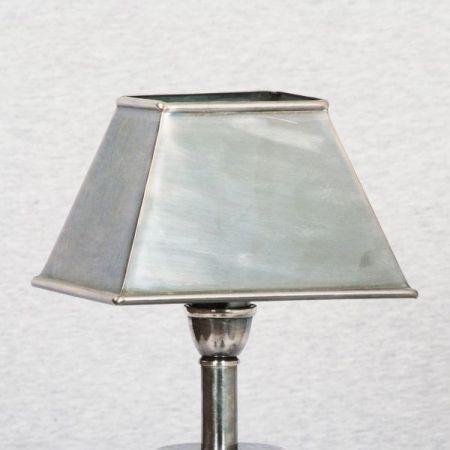 Metal Lamp Shade - Rectangular - 28 mm Ring
