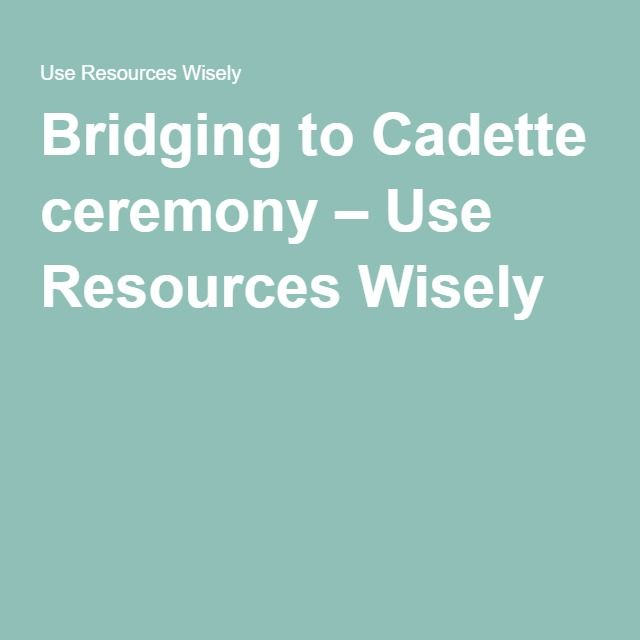 ... bridging girl scouts forward bridging to cadette ceremony use