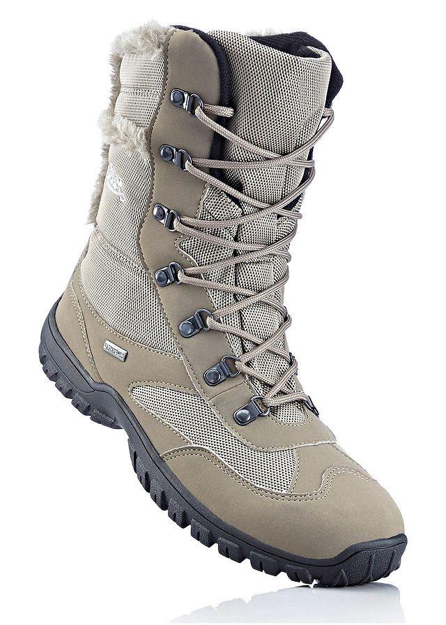 ff9bfcf188 Fűzős magas szárú Lico cipő • kőszürke • bonprix áruház | 40/0685835 ...