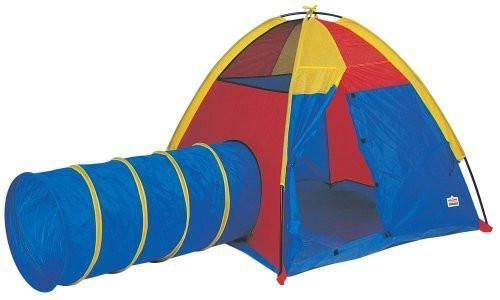 Pacific Play Tents 20414 Hide Me Play Tent and Tunnel Combo