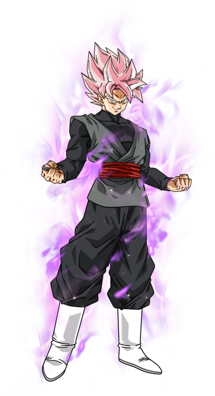 Black Goku super saiyan rose by BardockSonic on @DeviantArt