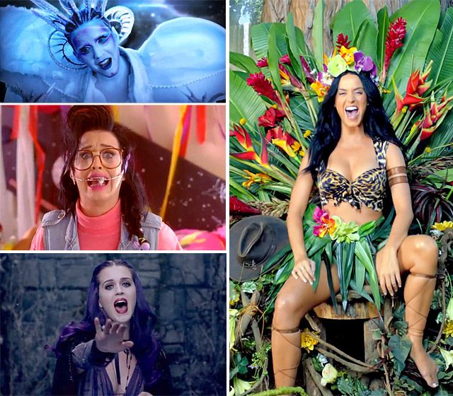 Katy Perry's Most Memorable Music Video Looks