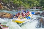 White water rafting on the Tully River, near Cairns, Australia