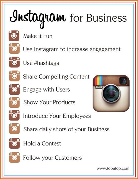 Instagram for Business - think of all the ideas!  (0000)