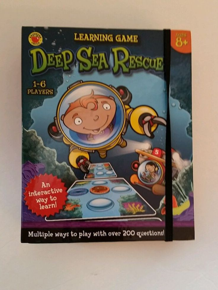Deep Sea Rescue Educational Board Game Math Reading Science Learn | Toys & Hobbies, Games, Board & Traditional Games | eBay!