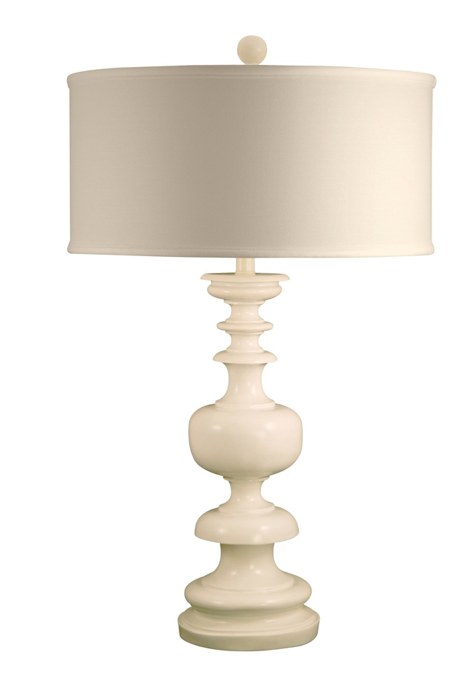 White gloss table lamp 272 at insideavenuelighting com 32h