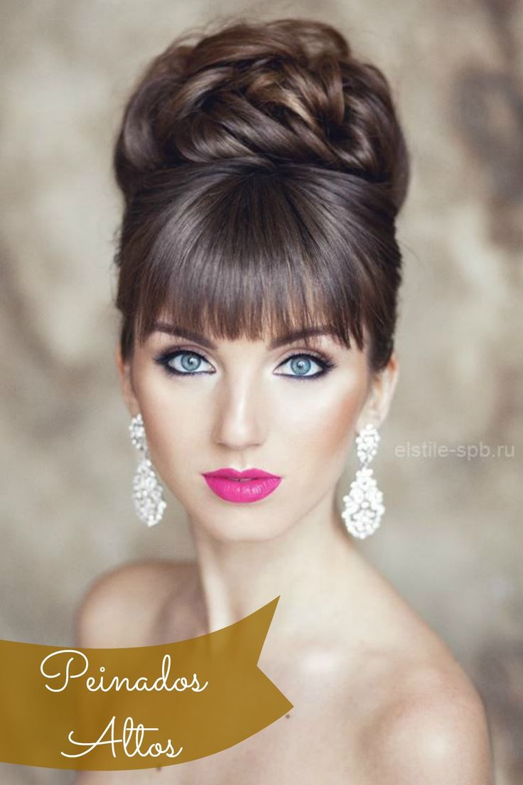 mejores imgenes de u peinados altos para boda u en pinterest peinados altos peinados de novia y boda