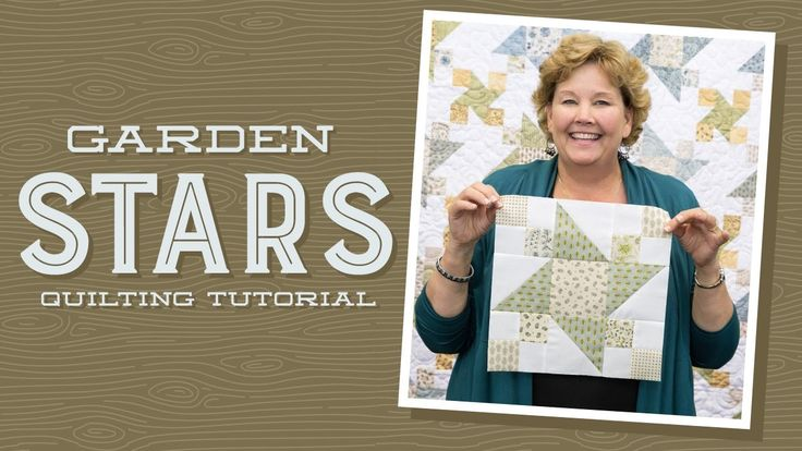 Get supplies here: http://bit.ly/GardenStar_YT Jenny shows us how to make a pretty Garden Stars quilt out of 5 inch squares of precut fabric (charm packs). J...