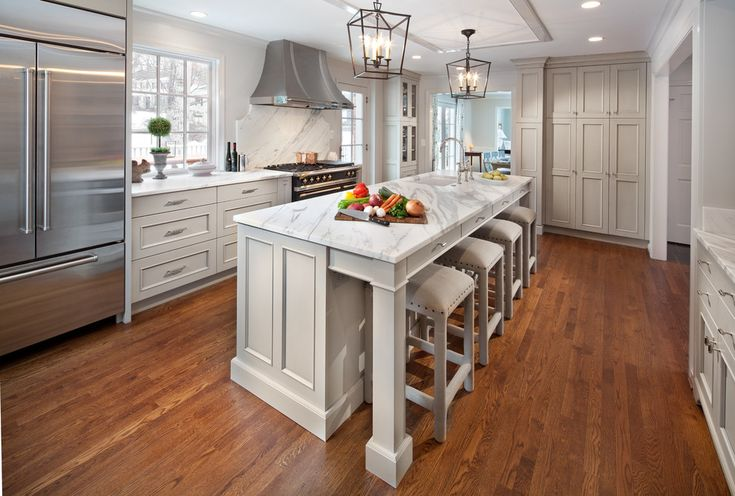 Superb-backless-bar-stools-in-Kitchen-Traditional-with-Colorful-Bar-Stool-next-to-Mont-Blanc-Stone-Countertop-alongside-Backless-Bar-Stools-andUpholstered- ...