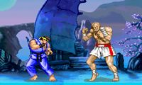 Play the famous fighting game street fighter in flash version!
