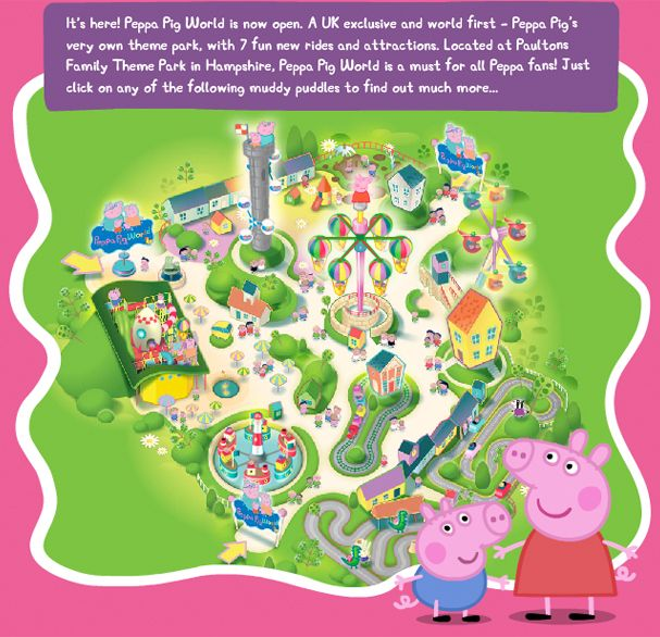 Peppa Pig World - dreaming of taking her...... someday...