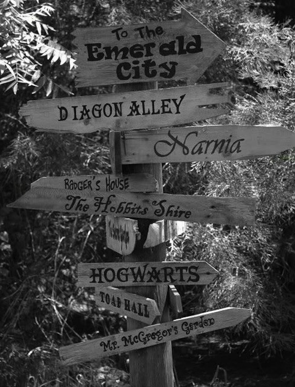 ...Emerald City, The Shire, Hogwarts, Pandora... Imagination.