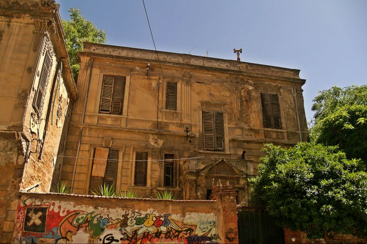 One of the few remaining old villas of the area and not in the best possible condition is the 1899 residence of Haziz Nihal Nazife. (Walking Thessaloniki, Route 14 - Papafi)