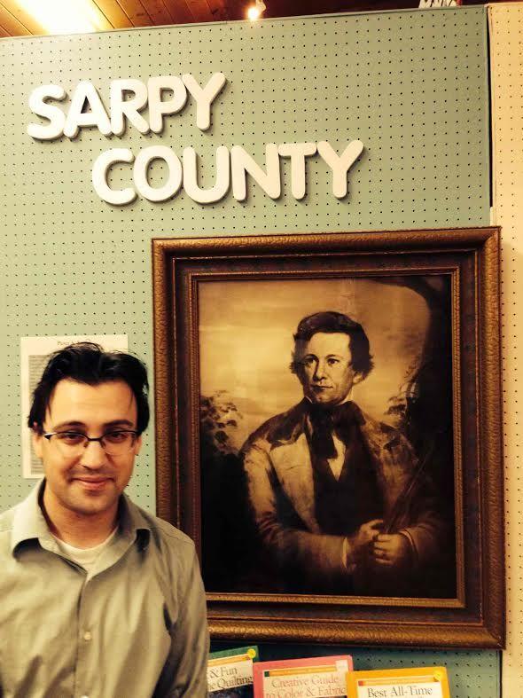 Here is the Sarpy Museum curator, Ben Justman.