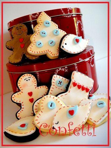 Christmas Cookies 2011. lauritavg/cookies-macarons-cup-cakes/ back