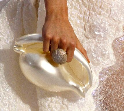 Conch Shell Clutch by Karl Lagerfeld for Chanel