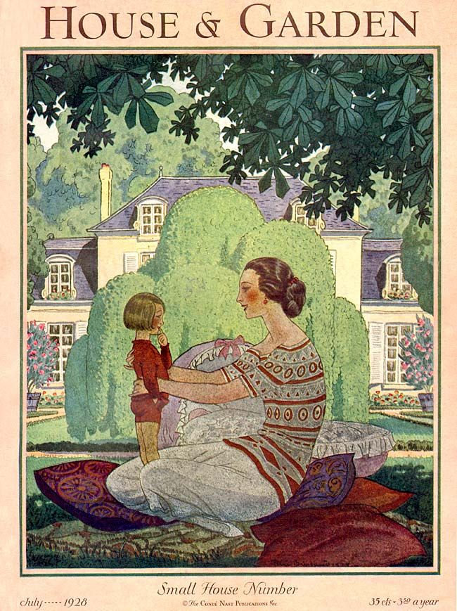 House and Garden 1928-07