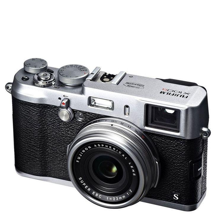 Fujifilm X100s Compact Digital Camera (HD 1080p, 16MP, Dual Viewfinder, 2.8 Inch LCD) - Silver