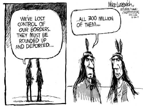 Image result for american indians immigration