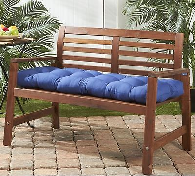 Replacement Patio Cushions Furniture Bench 51-inch Seat Pad Outdoor Deck Porch