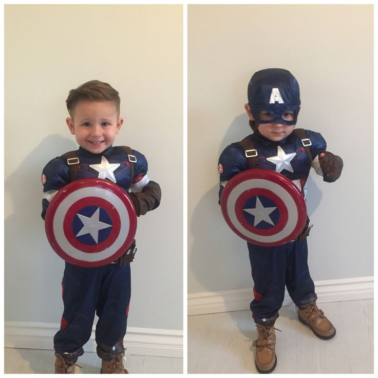 Captain America Halloween Costume kids, toddlers.