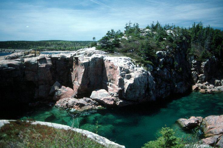 Squeaker's Hole, Ingonish, Cape Breton Island