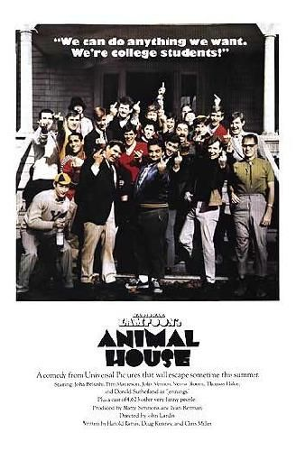 100 Greatest Films AFI posters | Picture of Animal House