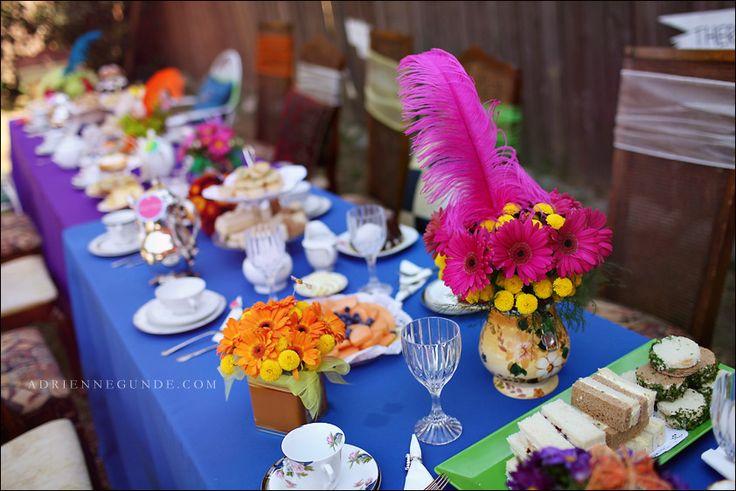 Alice In Wonderland Tea Party | Adrienne Gunde Alice in Wonderland Tea Party-8