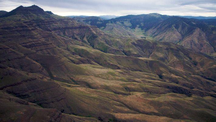 Hells Canyon (SUA)  20 de poze deosebite cu canioane, adevarate sculpturi ale naturii - galerie foto.  Vezi mai multe poze pe www.ghiduri-turistice.info  Sursa : www.flickr.com/photos/sbeebe
