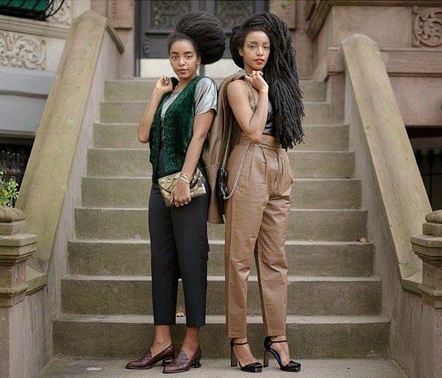 Afro Punk Fashion: Black Women Fashion, Model Look
