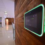 Broadacres Business Centre Boardroom Evoko Remote Booking System