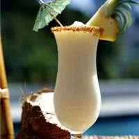 Margaritaville's Havanas And Bananas Drink Recipe - this concoction of frozen goodness is amaaaaazing!!! -- 3/4 ounce rum 3/4 ounce creme de banane 1 1/2 ounces bailey's irish cream 4 ounces pina colada drink mix 2 cups ice