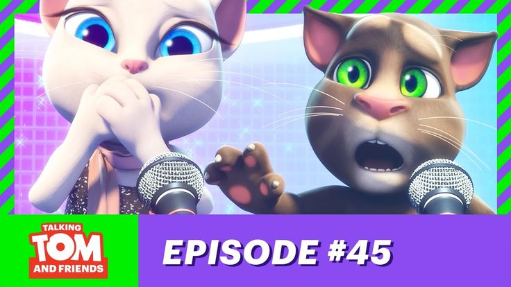 NEW! Talking Tom and Friends - The Voice Switch (Episode 45)