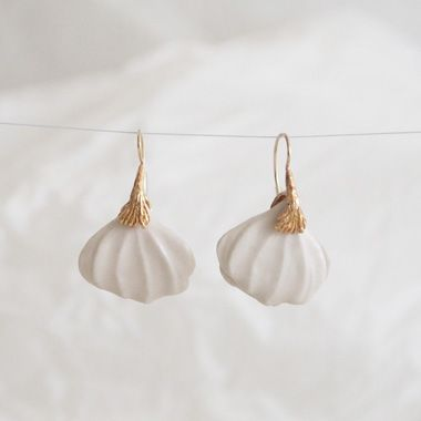 PLANT / PLANT hand made jewelry -Earrings14P47HW