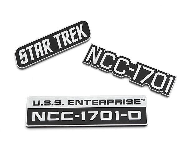Star Trek U.S.S. Enterprise Car Emblems