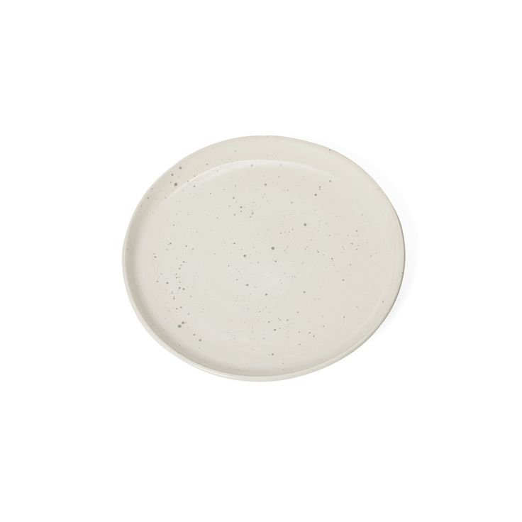 Quail Speckled Side Plate