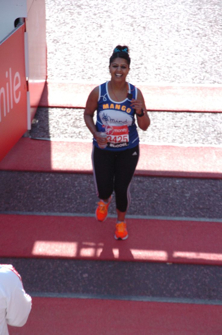 Manjinder Raiyat almost at the finishing line