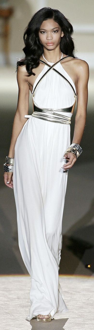 white maxi dress women fashion outfit clothing style apparel @roressclothes closet ideas